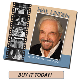 "Buy Hal Linden ""It's Never Too Late"""
