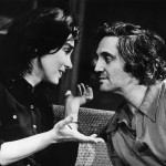 "Hal and co-star Zohra Lampert share a scene in the musical ""The Sign In Brustein's Window"""