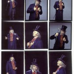 "As Scrooge in ""A Christmas Carol"" at Madison Square Garden"