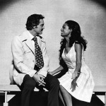 "Hal with Barbara McNair from Broadway's, ""The Pajama Game"""