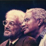 "Hal and Ozzie Davis in Broadway's ""I'm Not Rappaport"""